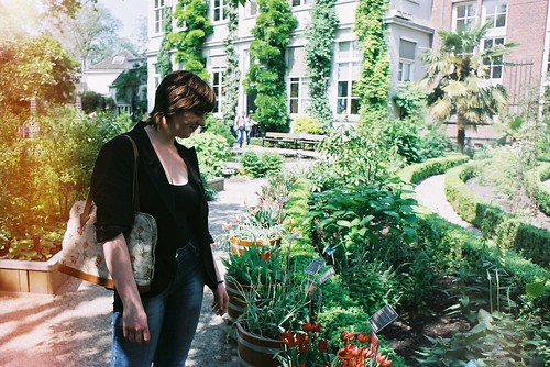 Ilona at the Hortus