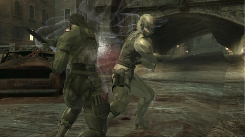 Metal Gear Online SCENE Expansion Screenshot Raiden