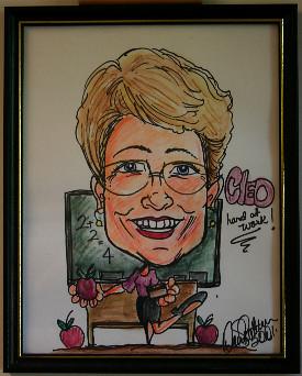 cleo-caricature