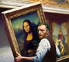 Van Gogh ci riprova... (The PIX-JOCKEY (visual fantasist)) Tags: robertorizzato art painting pixjockey gioconda monalisa leonardodavinci louvre vangogh photomontage fotomontaggi artisticmanipulation fake joke humour vip celebrity