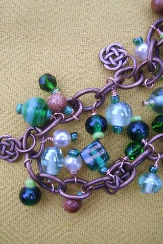 Detail, St. Patrick's Day Bracelet