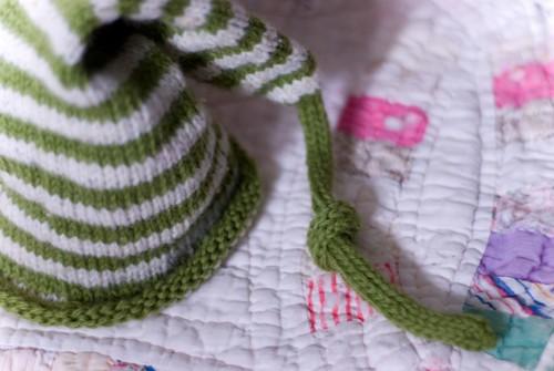 newborn irish pixie hat