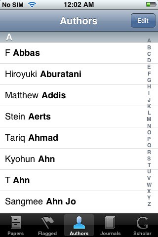 Papers for iphone