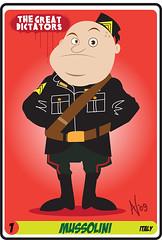 Benito Mussolini #1 - Italy (Andy Ventura) Tags: italy roma cartoon marcia su fascismo mussolini vincere ventennio benitomussolini dittatura squadracce andyventura thegreatdictators