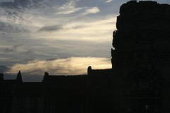 Evening at Angkor Wat