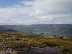 IMGP0871 (onizuka000) Tags: ireland lake mountains lough corrib mask lac peat bog irlande cong tourbires