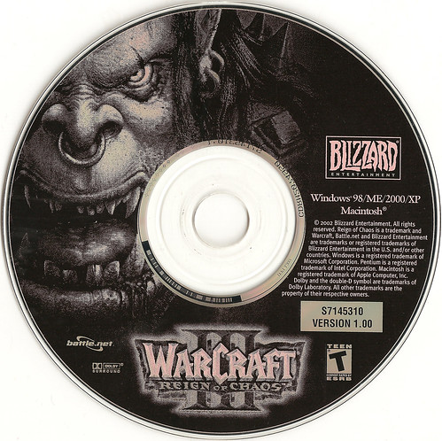 Warcraft 3 CD by John Mundy