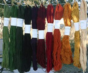 Rug Yarn from Taos Wool Fest