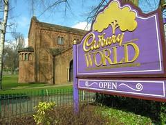 Exposition sur Cadbury, une trs ancienne fabrique de chocolat. (ludowski) Tags: birmingham cadbury bournville ludowski