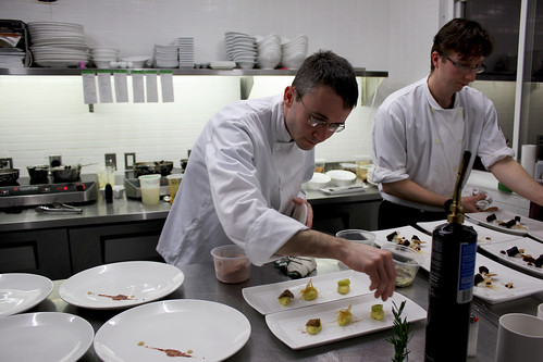 Chef Marc Lepine and Chef Michael Holland