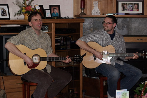 Dale Nikkel and Kimbal Siebert - house concert in Prince Albert, 2009-03-14