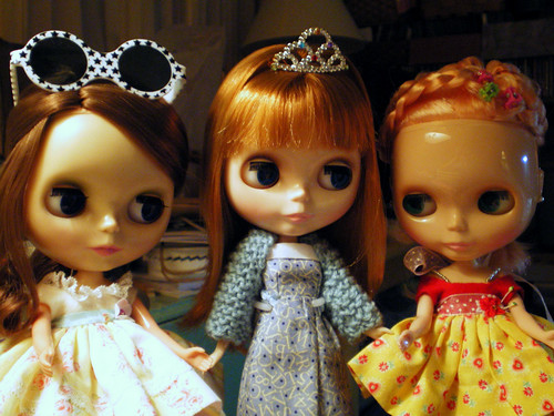 My Three Blythe Dolls