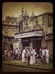 IN 1987 Car1-039a (Eric.Parker) Tags: street india texture 1987 muslim slide scan layer kolkata bengal calcutta westbengal scannedfromslide kalindi