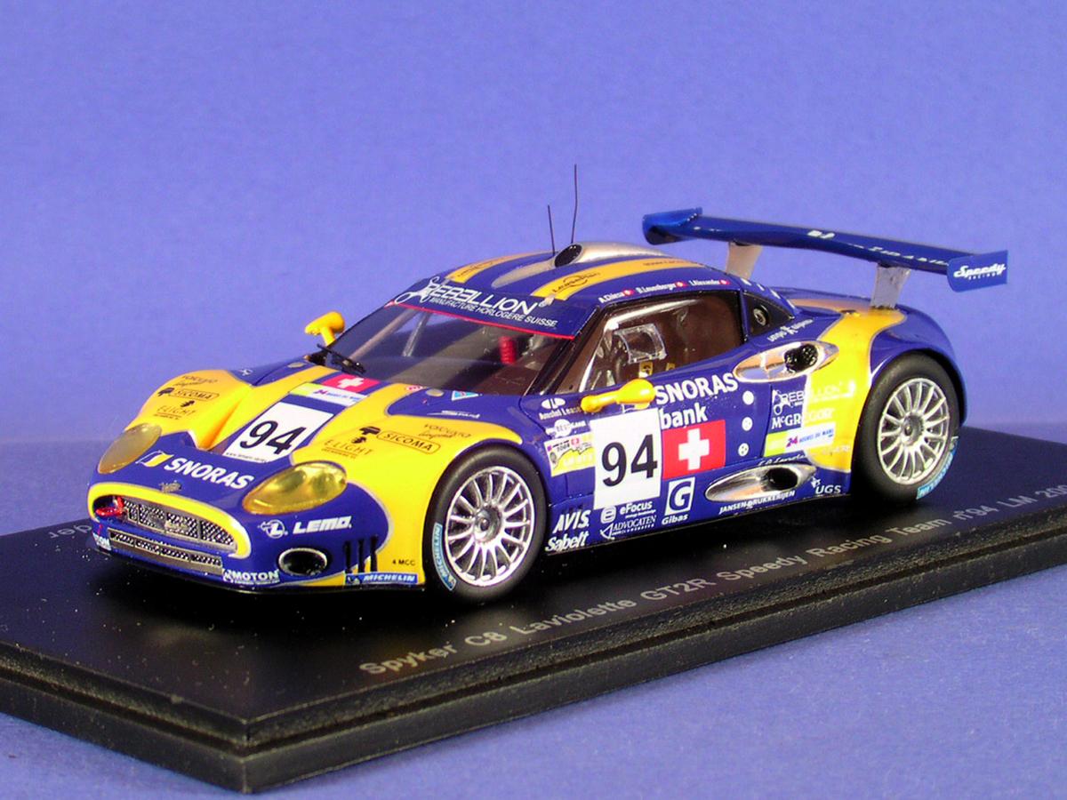 La SPYKER C8, du Mans 2008,