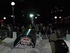 Back Flip with Snowboard (tarmo888) Tags: light people snow logo snowboarding jump europe tallinn estonia nightshot competition snowboard slomo salto lumi coldweather videoclip casioexilim redbull tallin stunt highspeed hispeed eesti muted mov slowmotion skill estland tallinna somersault backflip 视频 harjumaa снег slowmo longphoto notmyflash lumelaud külm таллин 300fps exf1 kukerpall hüpe year2009 time:hour=8pm 384p geotaggedvideo таллінн