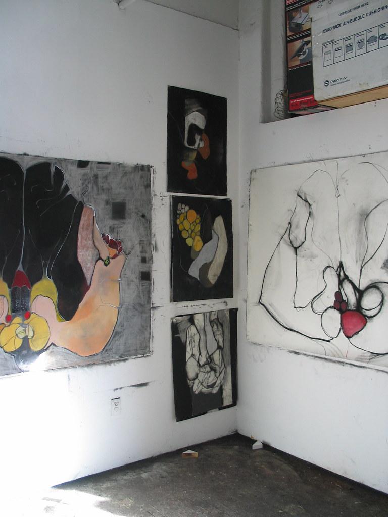 Corner of studio.