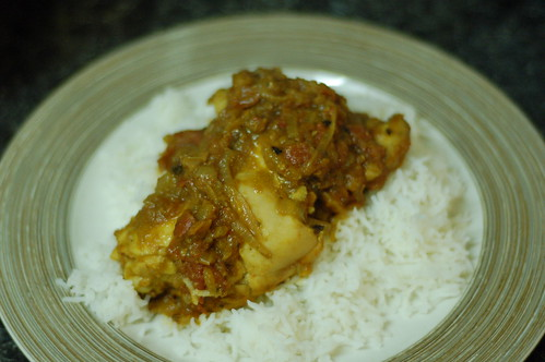 Red Goan Chicken