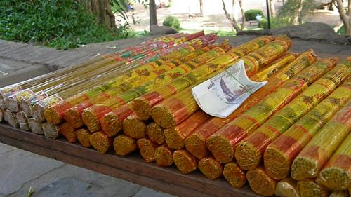 53.柬埔寨拜拜用的香