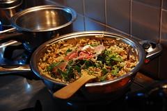 Risotto al prosciutto, rucola e mascarpone (Snarf.be) Tags: parmaham eten risotto rucola roquette jambon mascarpone parme