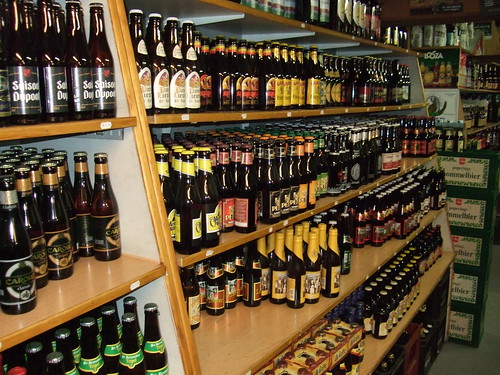 Noel Cuvelier's Beer Shop near Poperinge
