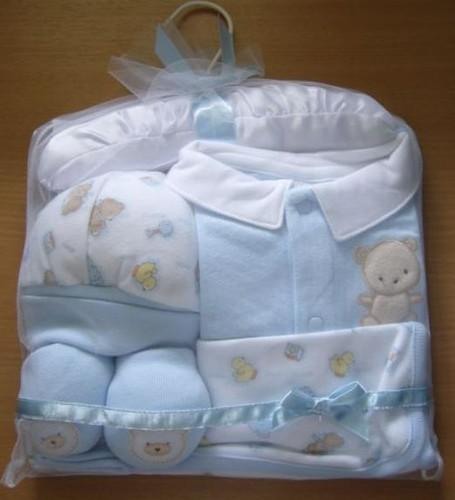 Brand New Baby gift set -blue bear - $12