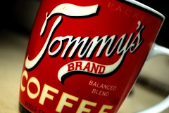 18 / 365 Tommy's (tommo24) Tags: cup coffee drink mug digitalcameraclub project365 nikond60 tommo24 tommysbrand