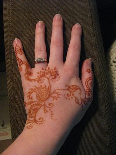 Henna, Day 2