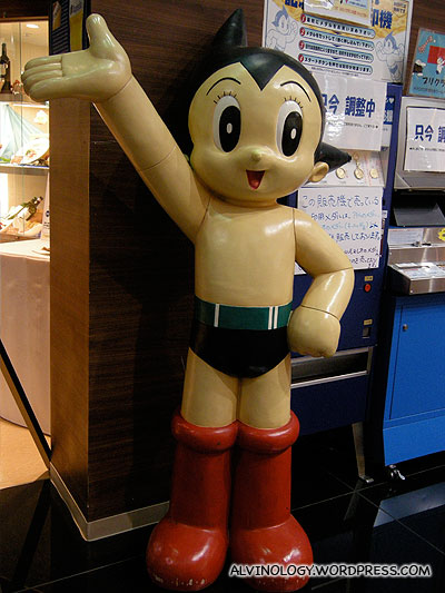 Astroboy welcomes all