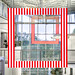 Two Frames with Red and White Stripes par yushimoto_02 [christian]