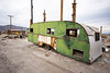 Old Green Trailer