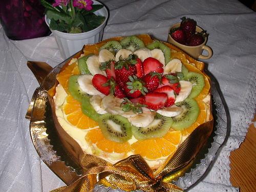Meyvalı Cheesecake