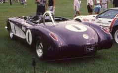 1959 Corvette racer (carphoto) Tags: bp corvette 1959 racer 1959corvetteracer meadowbrookconcours2002 richardspiegelmancarphoto