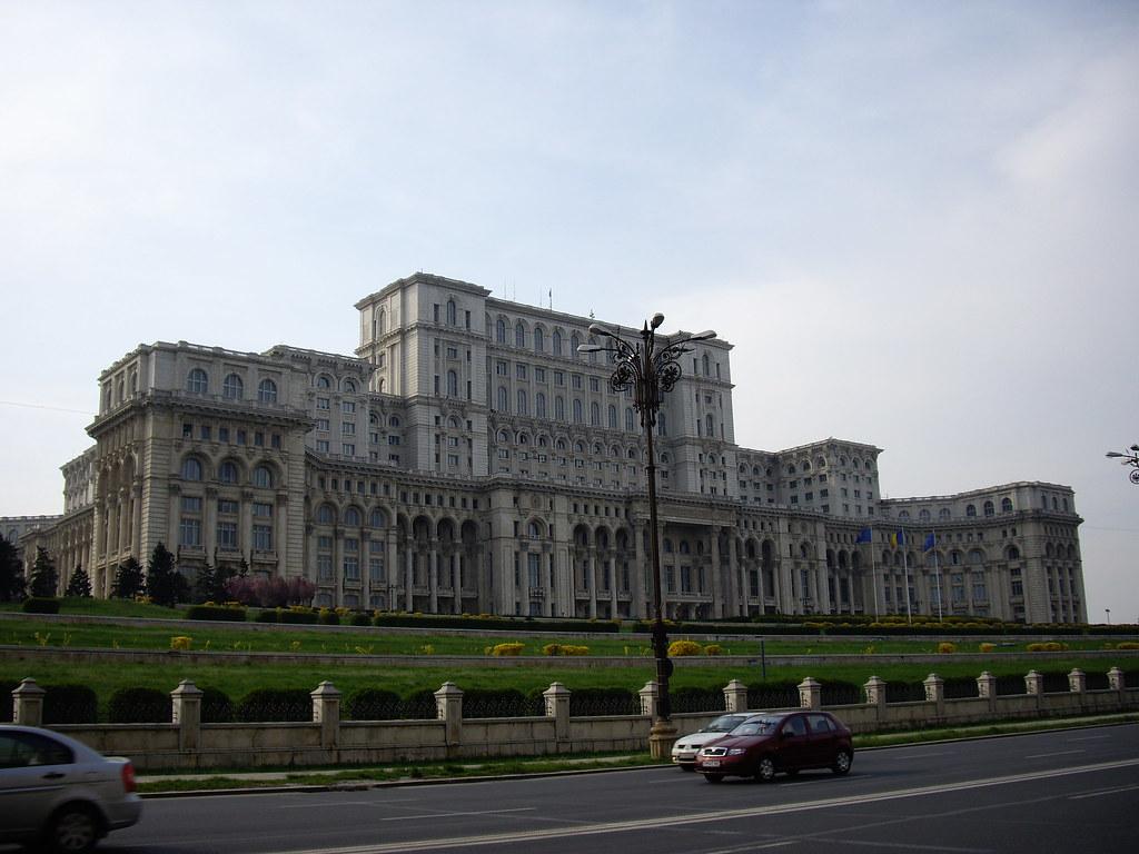 Palacio del Parlamento de Bucarest