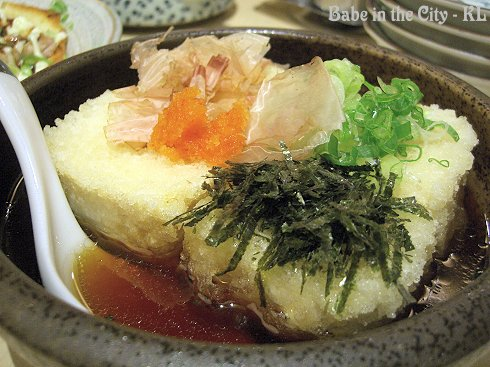 PZ - agedashi tofu RM9
