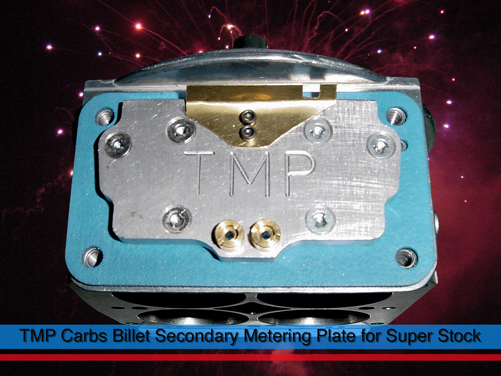 TMP Carbs TMPCarbs.net Holley BIlet Secondary Metering Plate for Super Stock and Stock Eliminator
