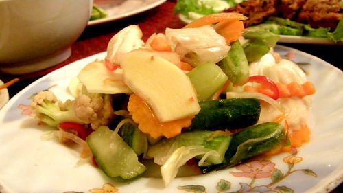 092.Ponlok Retauran的醃蔬菜