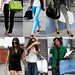 celebrities with their nice handbags