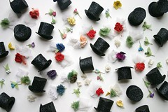 top hats, corsages and boutonnires (annwood) Tags: miniature tophats corsagesandboutonnires
