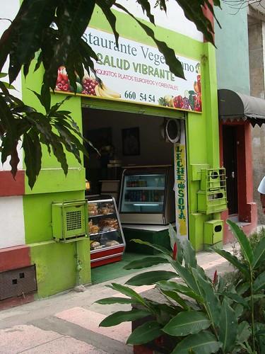 fachada restaurante salud vibrante