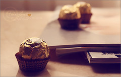 Ferrero rocher ~ (hana photography ) Tags: chocolate sony  hana bent ferrero mohammad rocher     dslra200 p ht