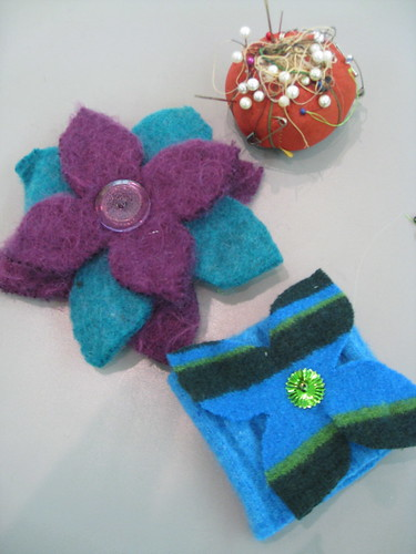Felt workshop at Tower Road Library