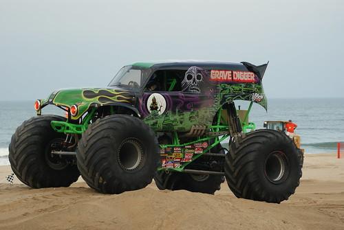 Modified Monster Trucks