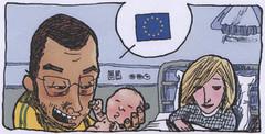 Detail uit de striptekening van Medhi Boualam - © www.eurocartoon.eu