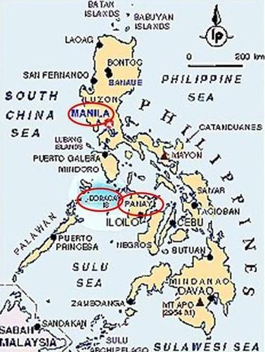 長灘島Boracay地圖