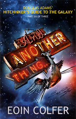 """And Another Thing"" UK book cover"