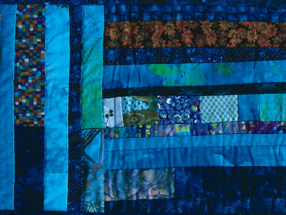 quilt - 'colors of cozumel'