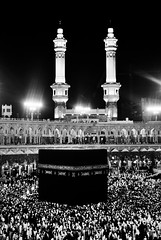 """ (Sanctuary photography  back ! maybe :p) Tags: bw nikon bnw mecca  d60 kaaba"