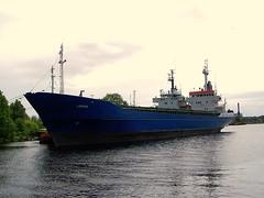 Lavinia (tompa2) Tags: sverige vatten lavinia halland falkenberg fartyg vattendrag ätran lastfartyg