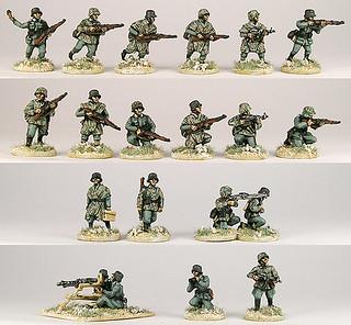 20mm Warmodelling German Infantry 1943-45 (ANRHEM)