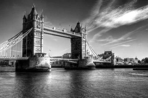 Puente de la Torre, Londres. The tower bridge, London.